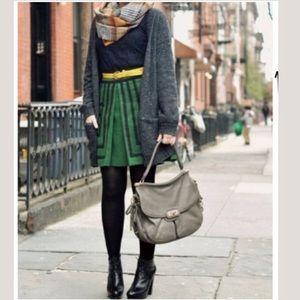 Anthropologie   Maeve Tsuga Green A-line skirt